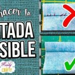 DIY Puntada invisible a mano