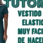 DIY Vestido con elástico en la cintura fácil