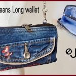 Bolso billetera jeans paso a paso