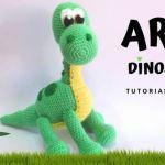 DIY Dinosaurio Amigurumi Tutorial patrón gratis