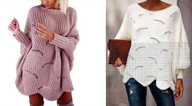 Blusa vestido oversize paso a paso