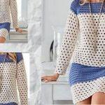 Conjunto Blusa y falda a crochet fácil