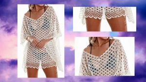Blusa Salida de la playa a crochet