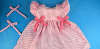 DIY Vestido de niña PASO a PASO