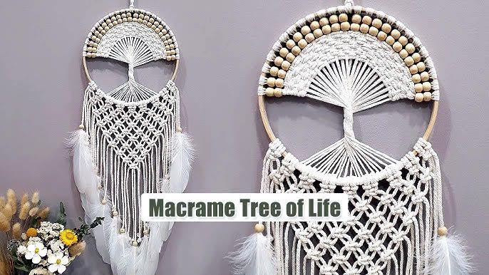 Árbol de la vida en macramé DIY