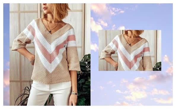 Blusa cárdigan a crochet muy fácil