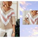 Blusa cárdigan tejida a crochet muy fácil