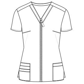 Chef Jacket Sewing Pattern