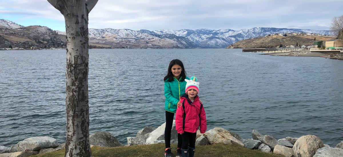 Lake Chelan in the Winter with Kids