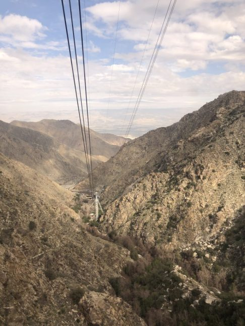 Palm Springs Aerial Tram #palmsprings #palmspringsaerialtram #familytravel #views #california