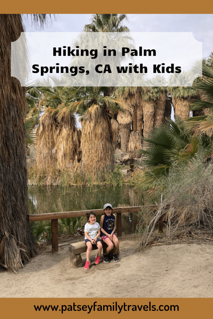 Hiking in Palm Springs with Kids #palmsprings #hike #california #oasis
