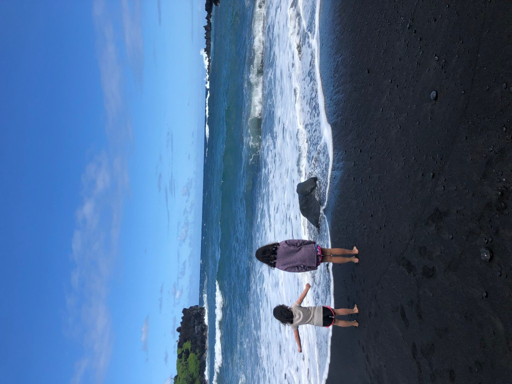 Black Sand Beach, Road to Hana, Maui, HI #blacksandbeach #RoadtoHana #maui #hawaii #hana