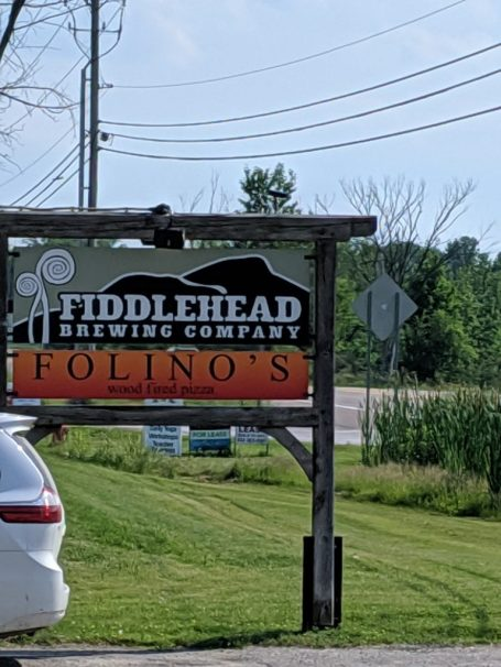 Fiddlehead Brewing Company in Shelburne, VT #vermont #craftbeer
