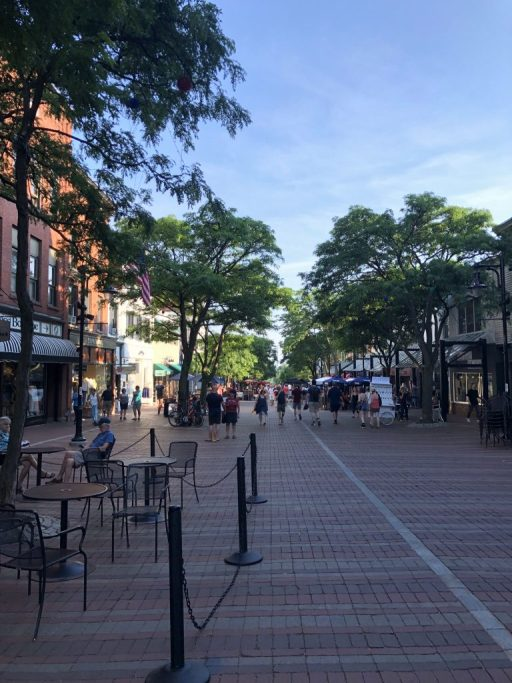 Burlington Church Street Marketplace #vermont #burlington #churchstreet