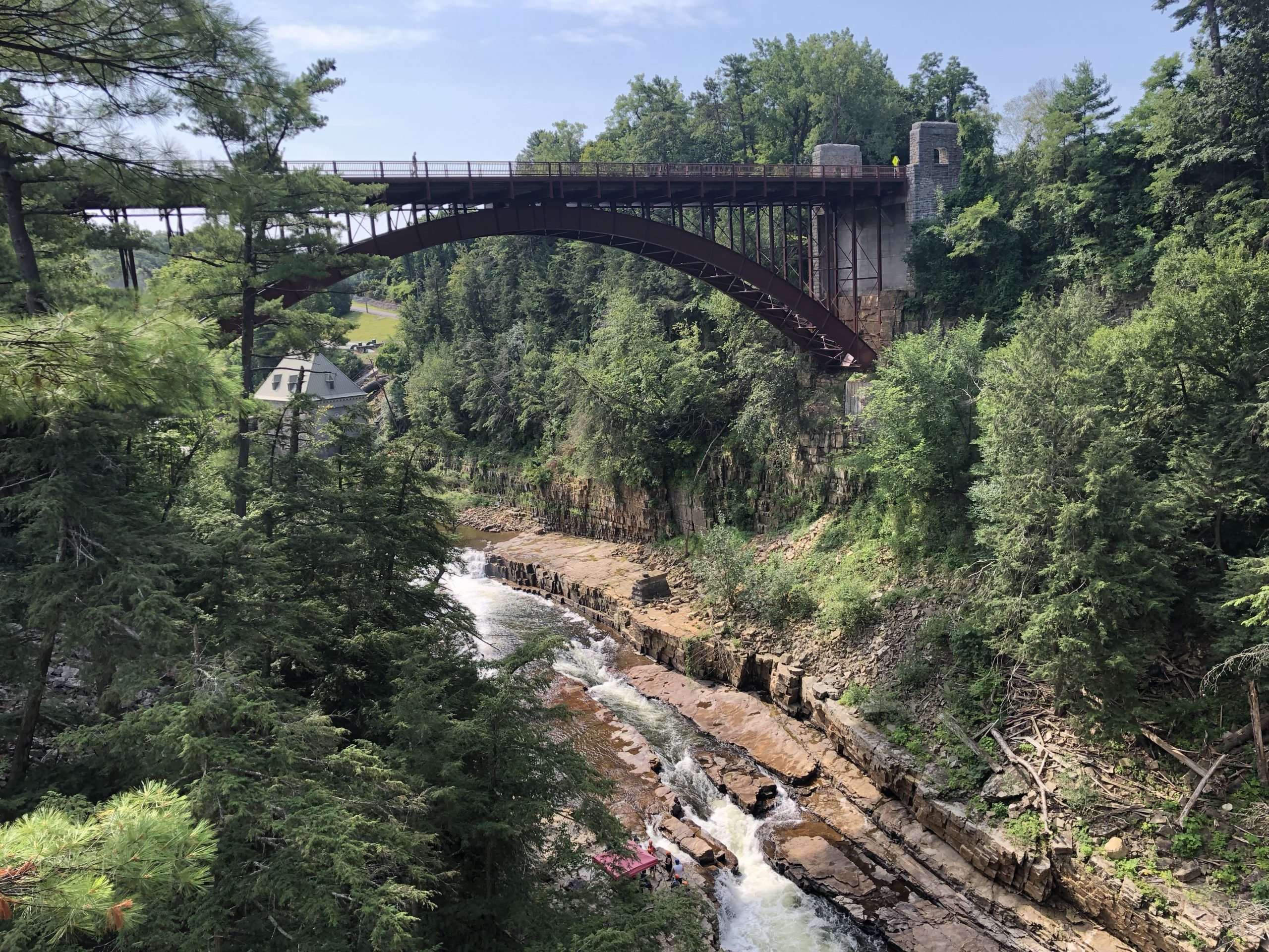 Visiting Ausable Chasm in the Adirondacks, New York - PATSEY FAMILY TRAVELS