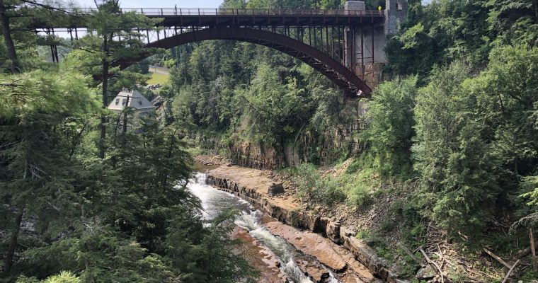 Visiting Ausable Chasm in the Adirondacks, New York