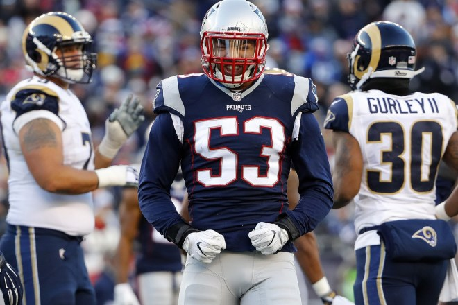 A Kyle Van Noy Reunion in Foxboro is Far From a Slam Dunk