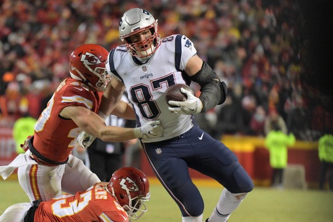 Patriots Report Card In AFC Championship Win Over Kansas City