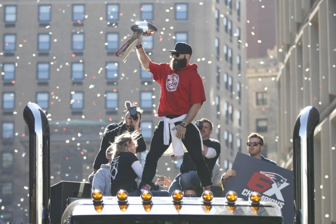 Best Of Social Media: Current and Former New England Patriots Celebrate Their Super Bowl Anniversaries