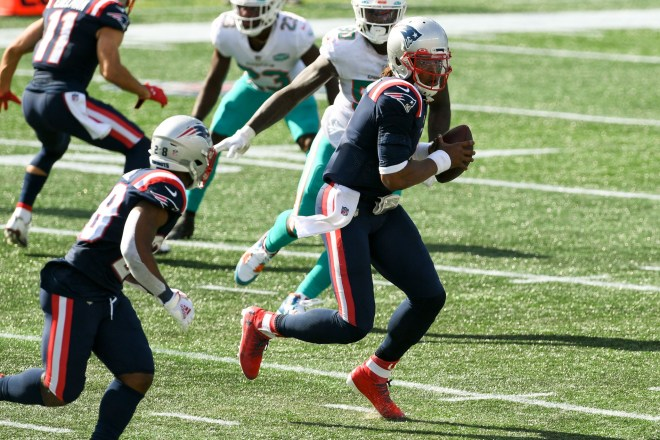 """Newton on His First Patriots Win: """"It was great for the team to find a way"""""""
