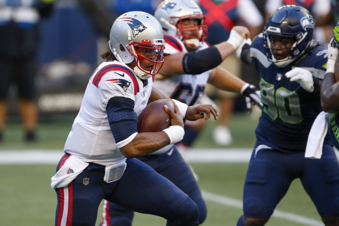 Patriots Rally Comes Up a Yard Short in 35-30 Loss to Seattle