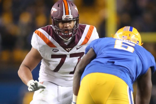 Patriots 2021 Draft Profile, OT, Christian Darrisaw, Virginia Tech