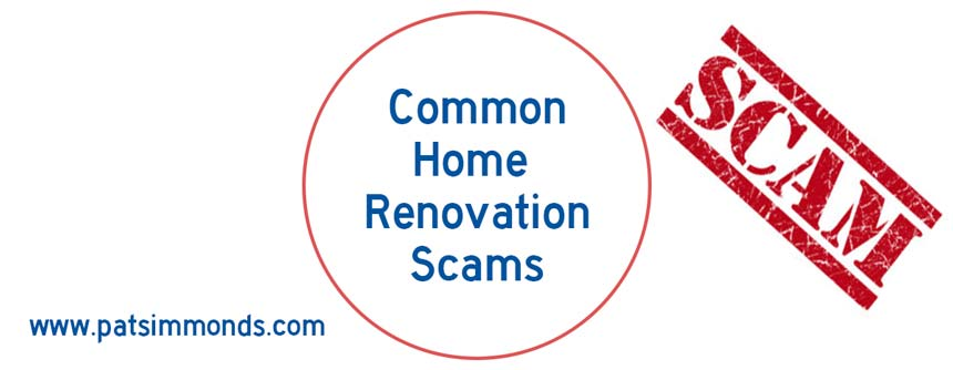 Common Home Renovation Scams