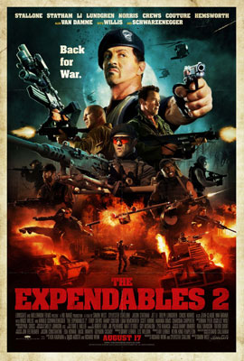 The Expendables 2 - Poster 2