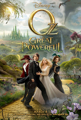 Oz the Great and Powerful - Poster 1