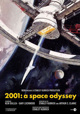 2001: A Space Odyssey - Poster 1