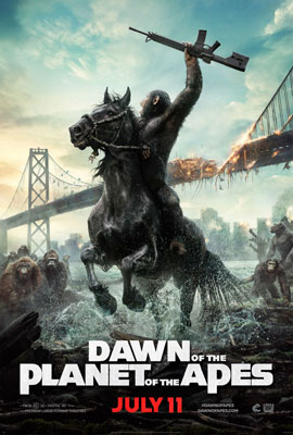 Dawn of the Planet of the Apes - Poster 2