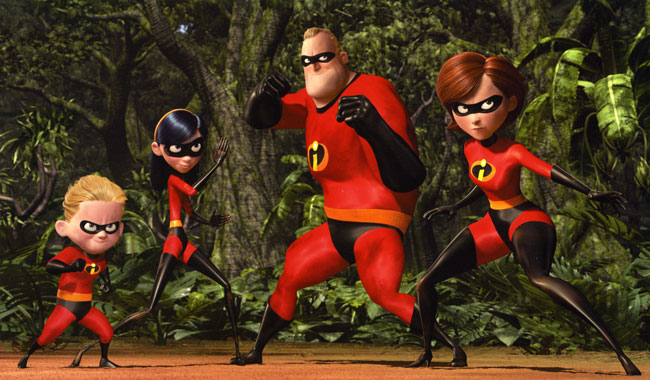 The Incredibles: Disney Pixar animation
