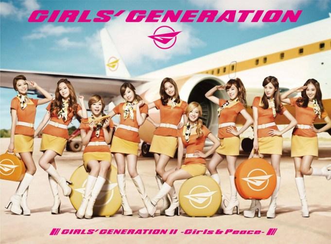 Girls' Generation กับอัลบั้มญี่ปุ่นชุดสอง Girls & Peace