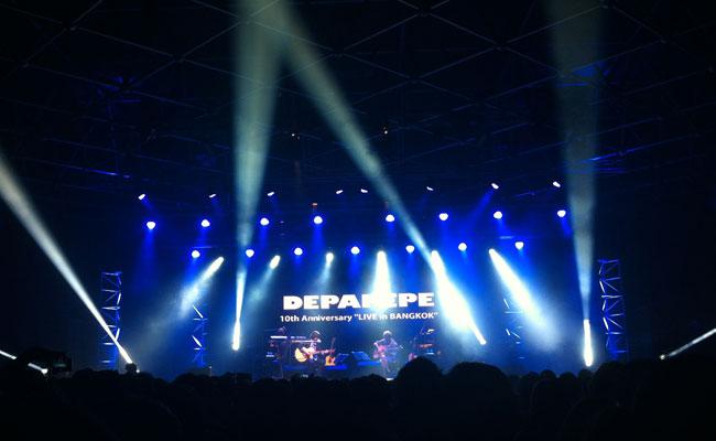 Depapepe 10th Anniversary 'Live in Bangkok'   เดปาเปเป้ อิน แบงค็อก