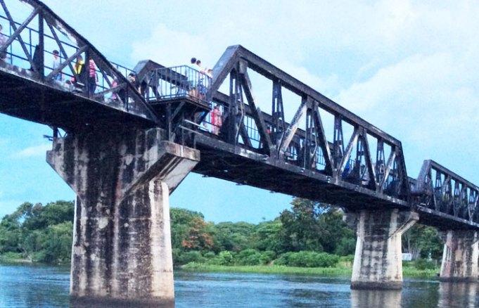 หาเรื่องเที่ยว: กาญจนบุรี (1) | สะพานข้ามแม่น้ำแคว