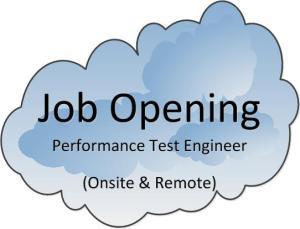 PatsonUSA JobOpening Performance Test Engineer
