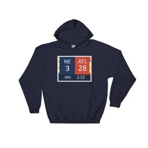 28-3 Hoodie (blank back)