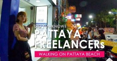 Watchers Finding Freelancers on Pattaya Beach Road Original films 21