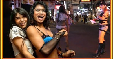 Thailand #Pattaya. Walking Street. The worst Girls on Street for custome
