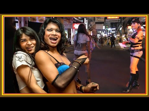 Thailand #Pattaya. Walking Street. The worst Girls on Street for custome