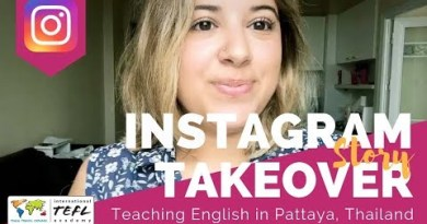 Teaching English in Pattaya, Thailand – TEFL Social Takeover with Krista Alessandri