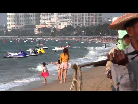 2014 PATTAYA BEACH 6 – PATTAYA CITY THAILAND – FHD