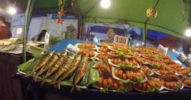 Pattaya Seashore Rd & Jomtiem Night Market