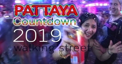 PATTAYA Countdown 2019 : strolling avenue
