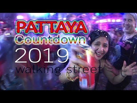 PATTAYA Countdown 2019 : strolling avenue