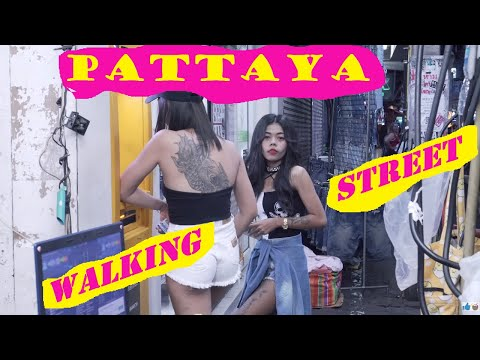 Freelancers and other ladies in Walking Avenue, Pattaya /Edited/