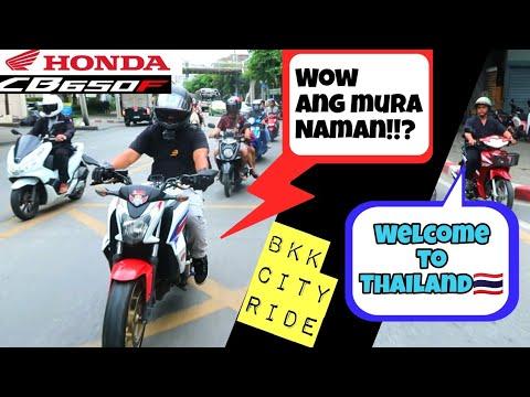 PASYAL SA MGA MOTOR SHOP SA THAILAND WITH HONDA CB650-F