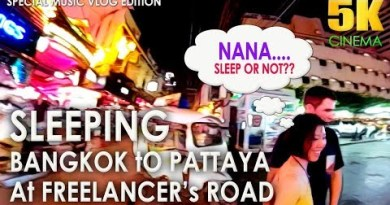Sleeping at  Pattaya Strolling Boulevard or Bangkok Nana Plaza | feat Freelancers – Sleeping M Vlog 01