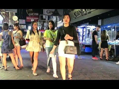Pattaya Nightlife Strolling Street