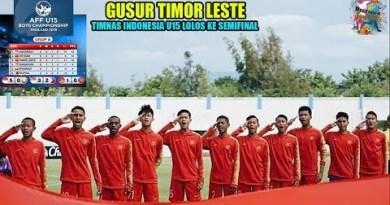 Timnas Indonesia U15 Lolos ke Semifinal Piala AFF U15 Boys Championship Thailand 2019.!!
